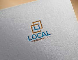 #487 untuk A logo and a graphic for a start up: Local Informant oleh nasironline791