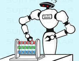 #28 for Design a Cartoon: Robotic Hand and Abacus by sujithnlrmail