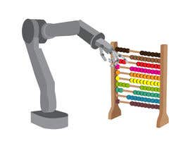 #2 for Design a Cartoon: Robotic Hand and Abacus by am0rty
