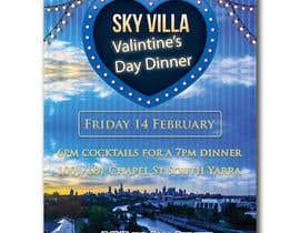 #20 for Invitation flyer for a dinner af sadiasultana282