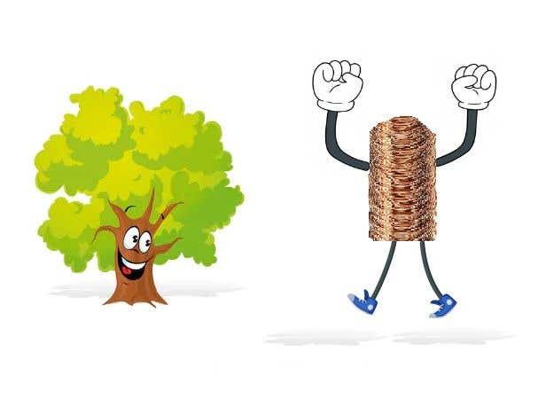 Inscrição nº                                         166                                      do Concurso para                                         Make a picture of a tree hugging copper