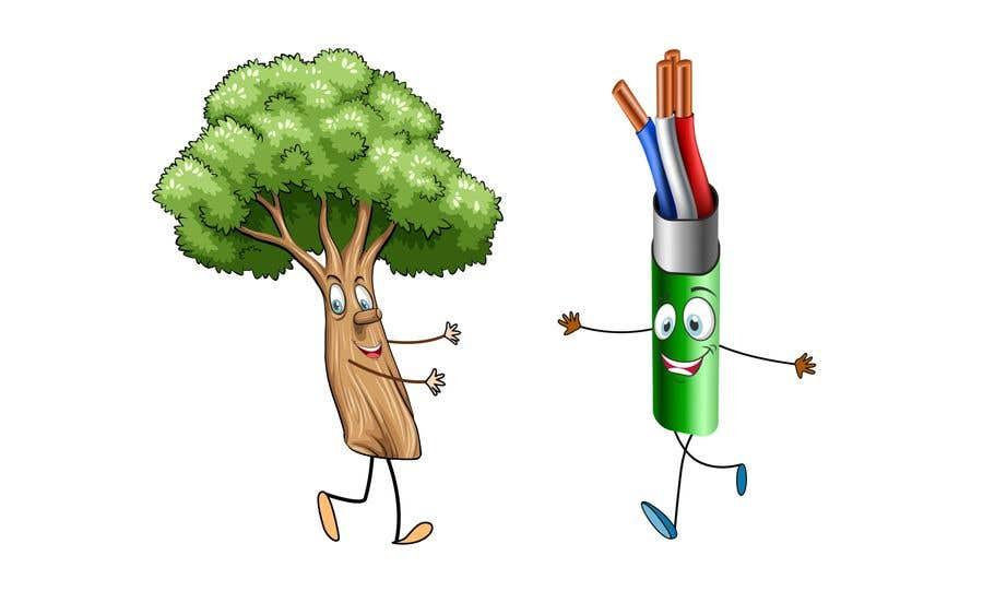 Inscrição nº                                         183                                      do Concurso para                                         Make a picture of a tree hugging copper