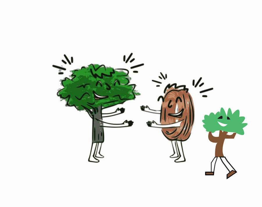 Inscrição nº                                         117                                      do Concurso para                                         Make a picture of a tree hugging copper
