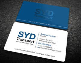 #886 for Design business card by Shuvo2020
