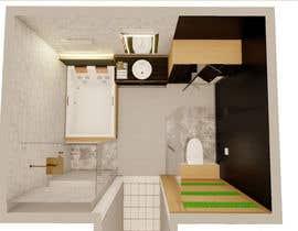 Nro 22 kilpailuun I have a Master Bathroom need to set a nice plan käyttäjältä joschagabriel