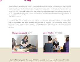 Nro 6 kilpailuun Graphic design and photo editing for a maternal health nonprofit sponsorship letter käyttäjältä cristic827