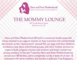 Nro 4 kilpailuun Graphic design and photo editing for a maternal health nonprofit sponsorship letter käyttäjältä TheQueenBee3