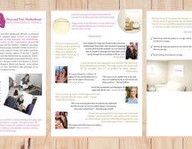 Nro 7 kilpailuun Graphic design and photo editing for a maternal health nonprofit sponsorship letter käyttäjältä leticiadbandeira