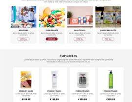#151 untuk Pharmacy  Retail eCommerce Site Design oleh WebCraft111