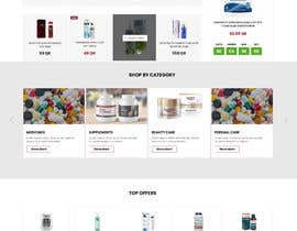 #152 cho Pharmacy  Retail eCommerce Site Design bởi modiprince
