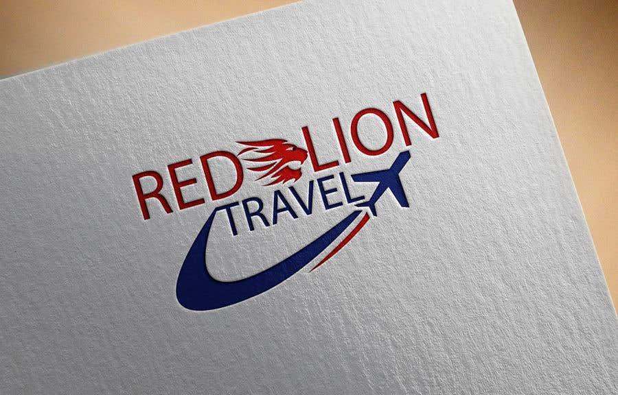 Penyertaan Peraduan #                                        70                                      untuk                                         A logo for Red Lion Travel