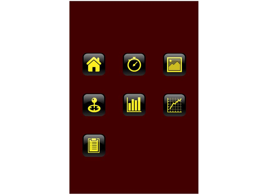 Konkurrenceindlæg #4 for Menu Button Design for IPHONE / Android App