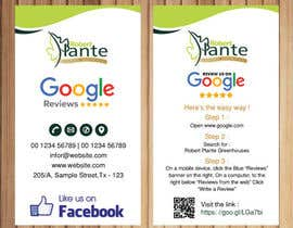 #10 cho Leave Us a Review Business Card bởi petersamajay