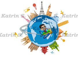 #10 cho Hello! I'm looking for a cartoon for my YouTube channel and website. I'm looking for my head to be put on a airplane maybe flying around the planet going right not left ? Please make sure I am able to use for this for commercial use. That be great! bởi katrinspasova