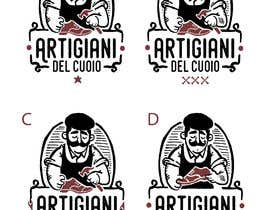 #123 for Design a cartoon logo and a special font for a handmade leather shoes brand by milmauro