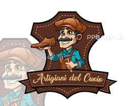 #81 for Design a cartoon logo and a special font for a handmade leather shoes brand by PPGrafico