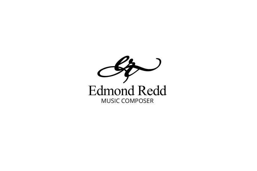 #44 for Logo Design for Edmond Redd- Music Composer by zetabyte