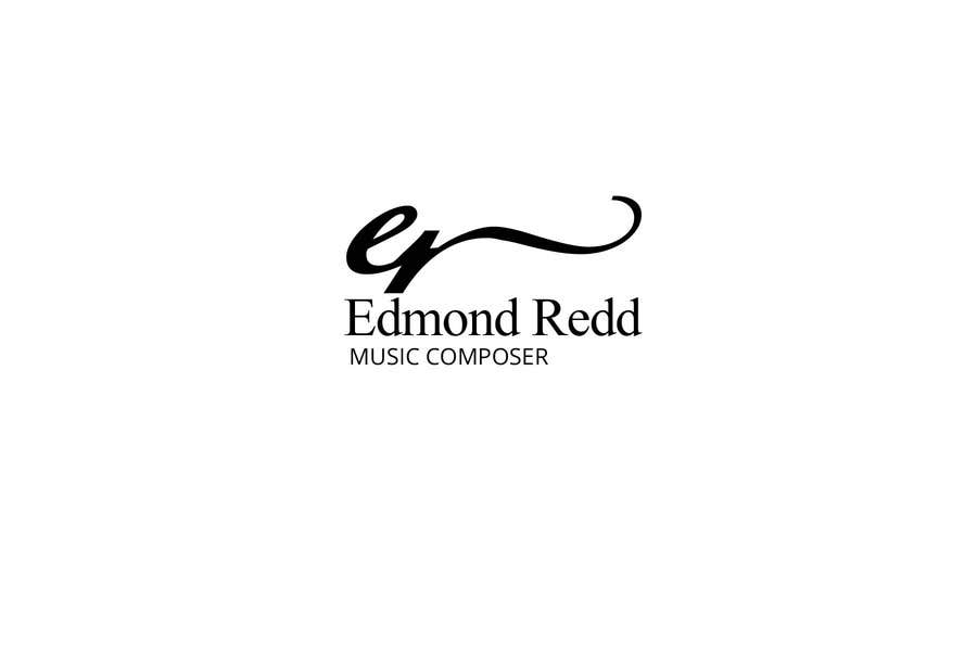 #47 for Logo Design for Edmond Redd- Music Composer by zetabyte