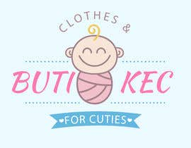 Nro 71 kilpailuun LOGO for a BABY 2ND HAND SHOP named BUTIKEC käyttäjältä yusufsmart11152