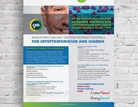 kabirpreanka tarafından Make me a information flyer regarding our new Certified Reference Material için no 9