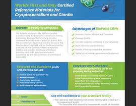 #81 cho Make me a information flyer regarding our new Certified Reference Material bởi moldudy3