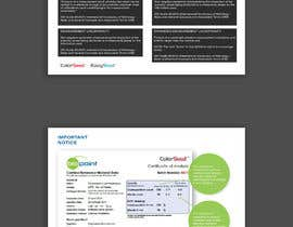 #14 für Make my brochure look professional - How to read your new certficate von ChiemiDesigns
