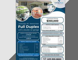 #54 for Real Estate Investing Pro-Forma Flyer by mdralmaruf