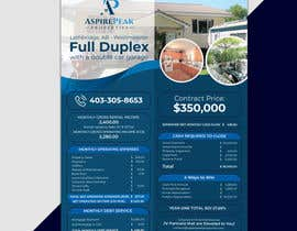 #61 for Real Estate Investing Pro-Forma Flyer by mdralmaruf