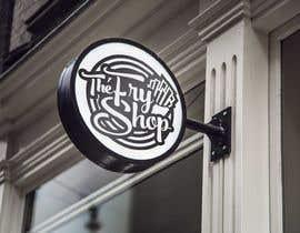 """#552 untuk Logo and Branding for """"The Fry Shop"""" oleh eddesignswork"""