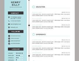 #10 untuk Resume Design oleh woara