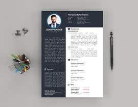#8 untuk Resume Design oleh CreativeNabil