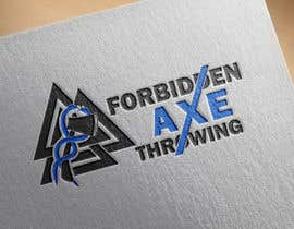 #150 pentru Logo for an Axe Throwing League de către AquaGraphic
