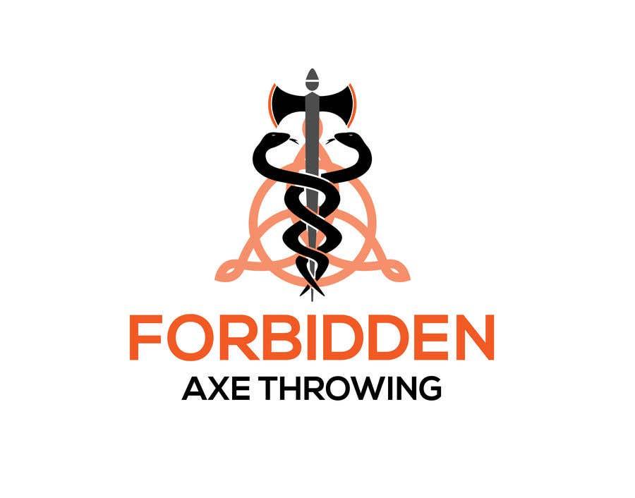 Конкурсная заявка №                                        136                                      для                                         Logo for an Axe Throwing League
