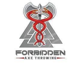#432 для Logo for an Axe Throwing League от abdelali2013