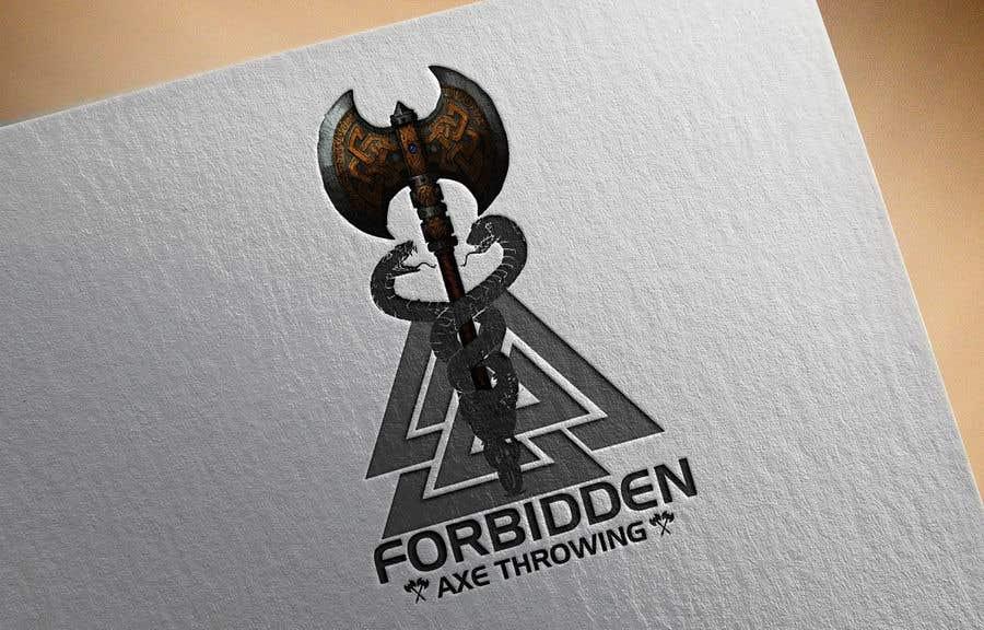Конкурсная заявка №                                        450                                      для                                         Logo for an Axe Throwing League