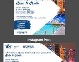 #38 untuk Ad for instgram & Facebook Advertisment use - Travel Agency Ad oleh sharmintusi
