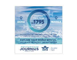 #37 untuk Ad for instgram & Facebook Advertisment use - Travel Agency Ad oleh Ara80