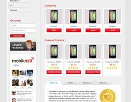 #12 for Website Design for Magento af iamheretodesign