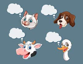rsraselri tarafından Illustration of four animals için no 21