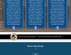 """#18 untuk Professional website for a law firm. Relevant, clean, dark green and grey themes. Technology, """"shelter in the storm"""" themes. Need at least 10 pages. oleh carmelomarquises"""