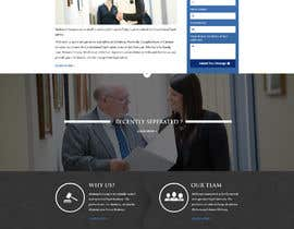 """#27 untuk Professional website for a law firm. Relevant, clean, dark green and grey themes. Technology, """"shelter in the storm"""" themes. Need at least 10 pages. oleh carmelomarquises"""