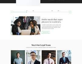 """#36 untuk Professional website for a law firm. Relevant, clean, dark green and grey themes. Technology, """"shelter in the storm"""" themes. Need at least 10 pages. oleh husainmill"""