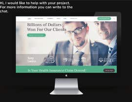 """#34 untuk Professional website for a law firm. Relevant, clean, dark green and grey themes. Technology, """"shelter in the storm"""" themes. Need at least 10 pages. oleh AdriSrivera"""
