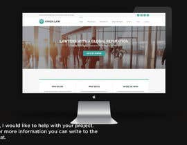"""#35 untuk Professional website for a law firm. Relevant, clean, dark green and grey themes. Technology, """"shelter in the storm"""" themes. Need at least 10 pages. oleh AdriSrivera"""