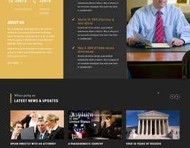 """#40 untuk Professional website for a law firm. Relevant, clean, dark green and grey themes. Technology, """"shelter in the storm"""" themes. Need at least 10 pages. oleh moniruzzaman97m"""