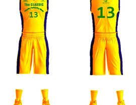 #14 для Design a basketball team uniform от alaasaleh6