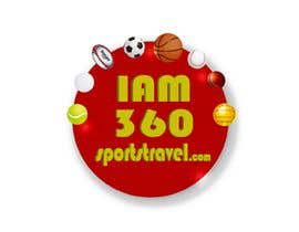 #7 para IAM360SPORTS TRAVEL 3D logo redesign por carlosgirano