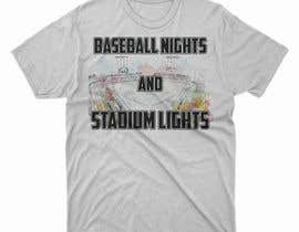 #6 untuk baseball tshirt design contest oleh moisanvictores