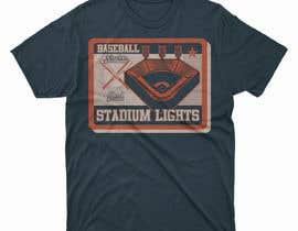#28 untuk baseball tshirt design contest oleh moisanvictores