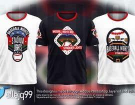 #26 untuk baseball tshirt design contest oleh allejq99